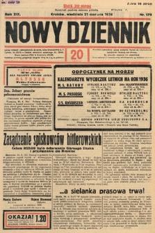 Nowy Dziennik. 1936, nr170