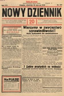 Nowy Dziennik. 1936, nr177