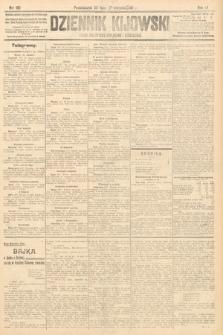Dziennik Kijowski : pismo polityczne, społeczne i literackie. 1911, nr192