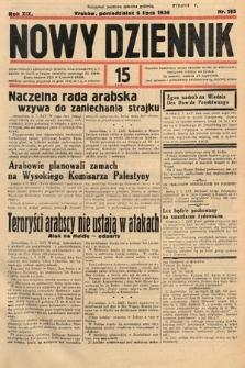 Nowy Dziennik. 1936, nr185