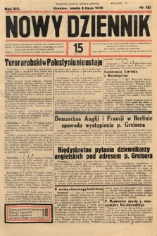 Nowy Dziennik. 1936, nr187