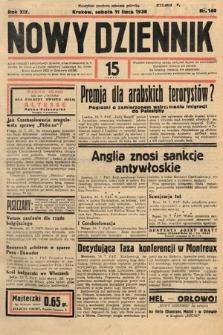 Nowy Dziennik. 1936, nr190