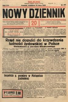 Nowy Dziennik. 1936, nr191