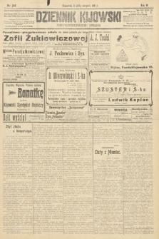 Dziennik Kijowski : pismo polityczne, społeczne i literackie. 1911, nr209