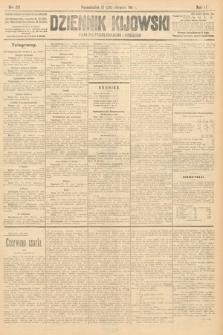 Dziennik Kijowski : pismo polityczne, społeczne i literackie. 1911, nr213