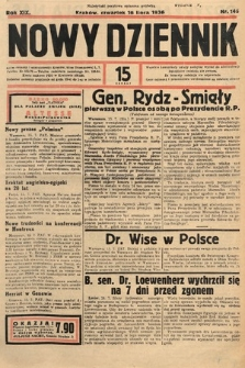 Nowy Dziennik. 1936, nr195