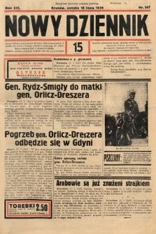 Nowy Dziennik. 1936, nr197