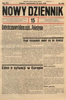 Nowy Dziennik. 1936, nr199