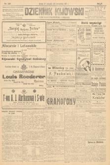 Dziennik Kijowski : pismo polityczne, społeczne i literackie. 1911, nr228
