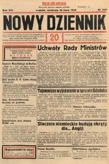 Nowy Dziennik. 1936, nr205