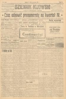 Dziennik Kijowski : pismo polityczne, społeczne i literackie. 1911, nr244