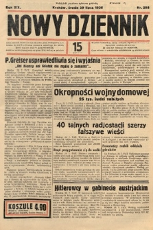 Nowy Dziennik. 1936, nr208