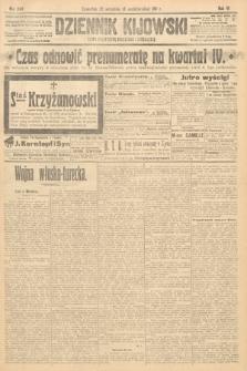 Dziennik Kijowski : pismo polityczne, społeczne i literackie. 1911, nr249