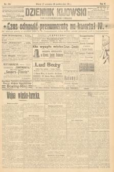 Dziennik Kijowski : pismo polityczne, społeczne i literackie. 1911, nr254