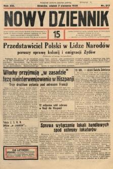 Nowy Dziennik. 1936, nr217