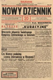 Nowy Dziennik. 1936, nr219