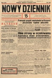 Nowy Dziennik. 1936, nr221