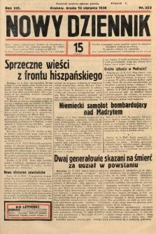 Nowy Dziennik. 1936, nr222