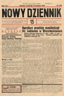 Nowy Dziennik. 1936, nr226