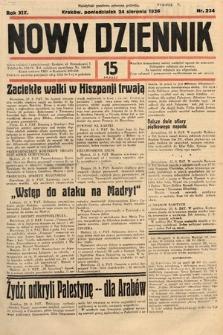 Nowy Dziennik. 1936, nr234