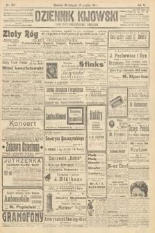 Dziennik Kijowski : pismo polityczne, społeczne i literackie. 1911, nr307