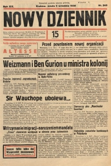 Nowy Dziennik. 1936, nr243