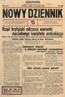 Nowy Dziennik. 1936, nr245