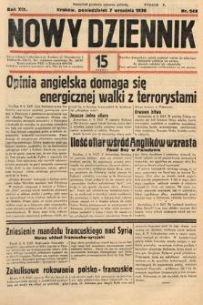 Nowy Dziennik. 1936, nr248