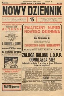 Nowy Dziennik. 1936, nr253