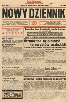 Nowy Dziennik. 1936, nr260