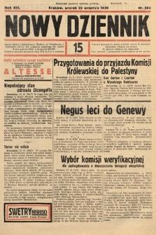 Nowy Dziennik. 1936, nr262