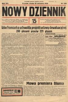 Nowy Dziennik. 1936, nr269