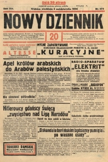 Nowy Dziennik. 1936, nr273