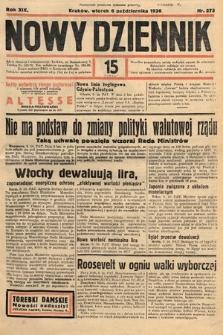 Nowy Dziennik. 1936, nr275