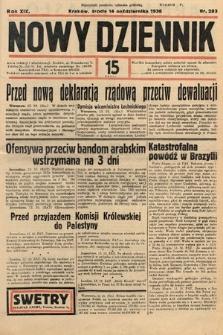 Nowy Dziennik. 1936, nr283