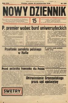 Nowy Dziennik. 1936, nr299