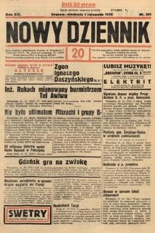 Nowy Dziennik. 1936, nr301