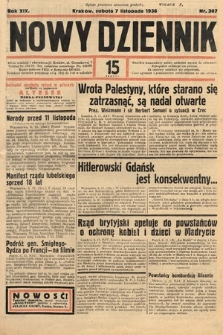 Nowy Dziennik. 1936, nr307