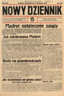 Nowy Dziennik. 1936, nr309