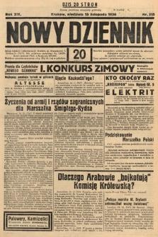 Nowy Dziennik. 1936, nr315