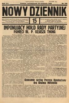 Nowy Dziennik. 1936, nr316