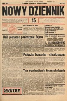 Nowy Dziennik. 1936, nr331