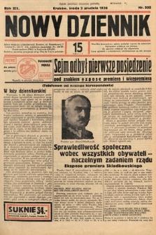 Nowy Dziennik. 1936, nr332