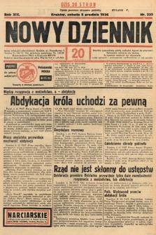 Nowy Dziennik. 1936, nr335