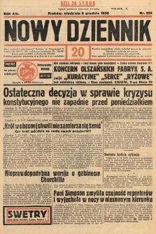 Nowy Dziennik. 1936, nr336