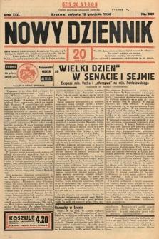 Nowy Dziennik. 1936, nr349