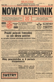 Nowy Dziennik. 1936, nr350
