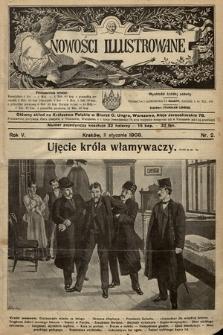 Nowości Illustrowane. 1908, nr2