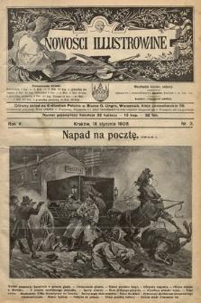 Nowości Illustrowane. 1908, nr3