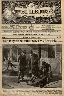 Nowości Illustrowane. 1908, nr14